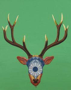 SOLDIER * canvas/acrylic * #art #ladylu #deer #soldier #guardianoftheforest #ranger #painting #interior #gallery #home #decor #followladylu #ladyluartist #ladyluart #original Acrylic Art, Ranger, Deer, Artworks, Moose Art, The Originals, Canvas, Gallery, Interior