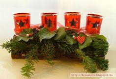 Advent decoration Advent, Planter Pots, Table Decorations, Furniture, Home Decor, Homemade Home Decor, Home Furnishings, Interior Design, Home Interiors