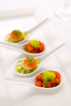 Sarah French   Gallery of some delicious finger foods, canapes and gourmet snacks for Sydney catering and events