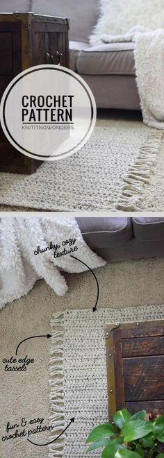 34 New Ideas Crochet For Beginners Rug Knitting Patterns Crochet Amigurumi Free Patterns, Crochet Mittens, Crochet Patterns For Beginners, Easy Crochet Patterns, Knitting Patterns, Crochet Ideas, Free Knitting, Crochet Home, Crochet For Kids