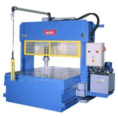 150 Ton DAKE® Movable Frame Press - MODEL PMM 150MD. MADE IN USA! For more information or to order, CALL 386-304-3720, VISIT http://sierravictor.com/index.php?dispatch=products.view&product_id=4045
