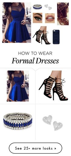 """""""Formal Valentine's Dinner"""" by heaven-cedeno on Polyvore featuring Samantha Warren London, NYX, Kenneth Jay Lane, Vivienne Westwood, women's clothing, women, female, woman, misses and juniors"""