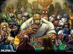 Marvel Poker