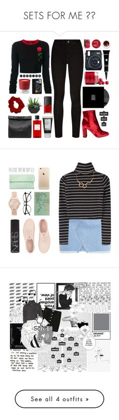 """""""SETS FOR ME ❤️"""" by expresng ❤ liked on Polyvore featuring Paige Denim, County Of Milan, Lux-Art Silks, NARS Cosmetics, Marie Turnor, Hermès, Dermablend, Korres, Yves Saint Laurent and Fuji"""