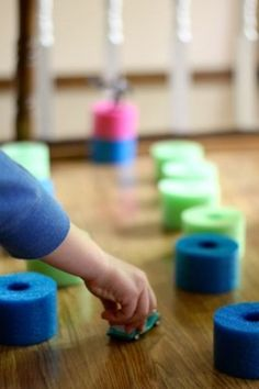 Brilliant: Quiet Blocks made from Pool Noodles!