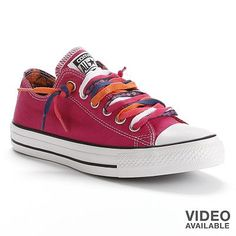 Converse All Star Multi-Lace Sneakers for Women