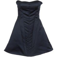 EMPORIO ARMANI Short dress ($298) via Polyvore