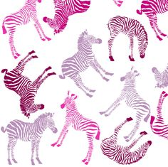 Baby Zebra visits the Cheshire Cat in Wonderland gift wrap by Smuk on Spoonflower