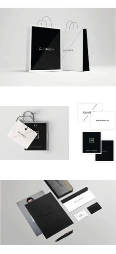Galo Bertin  #branding #logo #design #GaloBertin #packaging #graphic #design #studio #fashion #men
