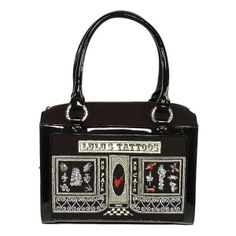 Lulu Guinness Tattoo Parlour 'Carmen' Evening Handbag - Once upon a time, I carried this bag every day. I loved this bag! I miss it so much & can't believe I ever let it go. But, I really couldn't afford it (I had it on loan from bagborroworsteal.com - really should have taken the steal option!). And now that I think I'd be willing to spend the money on such a great bag.... it can no longer be found anywhere. :-(