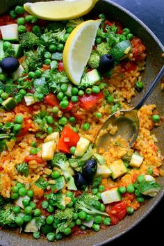Warzywna paella – Even Better Food