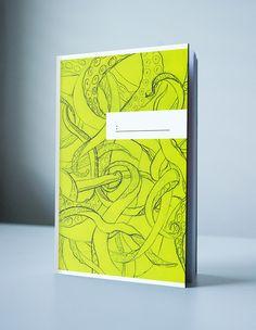 Notebook Design by Kjerstin Asak, via Behance