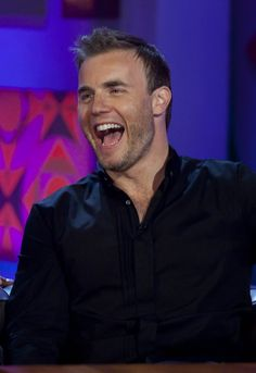Gary Barlow, love your smile and laugh!