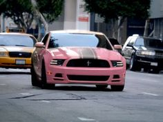 Next car WILL be a mustang... and I WANT pink!