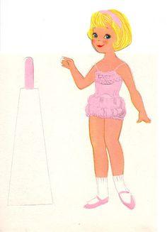 Vivian Smith Hallmark Paper Doll Cards - Lorie Harding - Picasa Webalbum
