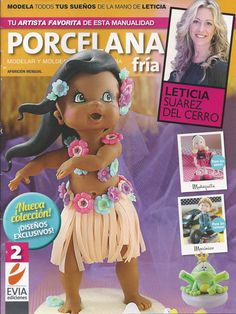 Cold Porcelain Magazine 2 2013 by Leticia Suarez del by AmGiftShoP, $12.99