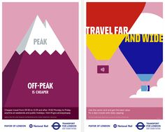 M&C Saatchi has been working with Outline Artists' Rob Bailey for several  months on a series of vibrant illustrated posters for Transport for London.  Each poster in the campaign is designed to inform Londoners about fares and  ticketing to ensure they get the most out of using Transport for London's  network.  The campaign is now live across billboards, press, digital display and  digital outdoor, with each poster communicating a piece of helpful  information relating to off-peak travel…