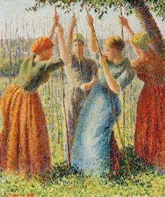 Camille Pissarro (1830-1903, France)
