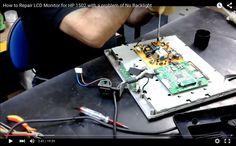 HP 1502 LCD Monitor NoBacklight