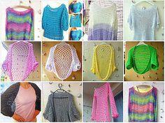 Crochet sweaters  http://www.vikea.eu/index.php/damske-oblecenie