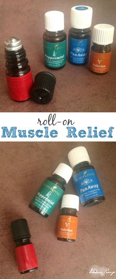All Natural Muscle Rub Using Essential Oils 10 drops pan away 10 drops peppermint 10 drops valor fill with carrier oil tsp or maybe stress away instead of valor? Or lemongrass . Essential Oils For Massage, My Essential Oils, Young Living Essential Oils, Essential Oil Blends, Roller Bottle Recipes, Healing Oils, Young Living Oils, Carrier Oils, The Fresh