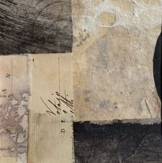 """'Clew Bay'   Lynn Watt, collage from series: """"Places I remember where I've…"""