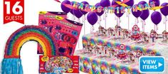 Lisa Frank Rainbow Horse Party Supplies - Party City