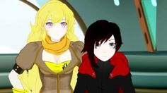 Sisters with swagg😎😎 💛❤️ Rwby Volume 1, Beacon Academy, Sis Loves, Rwby Anime, Ruby Rose, Drawing People, Swagg, Sailor Moon