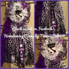 Mums the Word!!! Check out our Facebook page... https://www.facebook.com/Homecomingmumsbytammiebaker