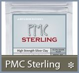 PMC & Art Clay Silver precious metal clays, plus bronze clay and gold foils at Cool Tools