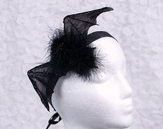 Vampire BAT Headband, Gothic, Halloween Costume, Women's Costume