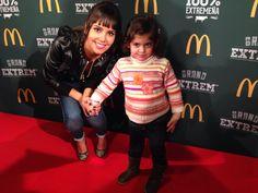 Con Cristina Pedroche