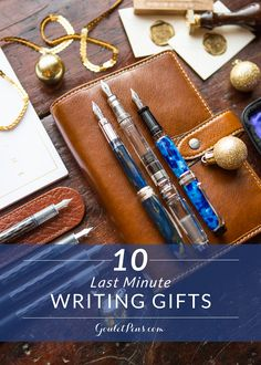 Give the gift of great writing! Explore our collection of fountain pens and writing accessories, ideal for the established and new fountain pen enthusiast alike!