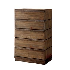 Furniture of America Emallson Rustic Tone Chest
