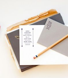 makes me want to pick up a pen and write an actual card (vs. an email).  also, masculine enough for a stylish gent.    via Oh Joy