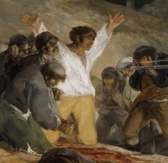 """Francisco de Goya: """"El 3 de mayo de 1808 en Madrid, o Los fusilamientos"""" (detail)"""