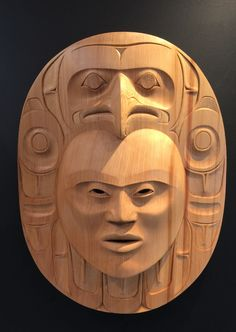 """Wrapped in Truth"" - Klatle-bhi (Kwakwaka'wakw/Squamish).  Red cedar."