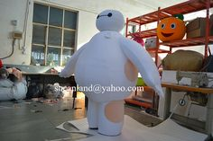 Baymax Mascot Costume,Baymax Cosplay,Baymax Adult Costume,Baymax Clothing,Baymax Party Costume,Baymax Birthday Costume,Baymax Cotumes