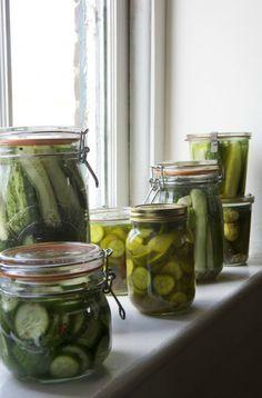 Weekend Project: Bread & Butter Pickles