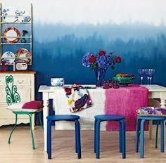 DIY Paint Ideas For Walls, Image Source lampsplus.com