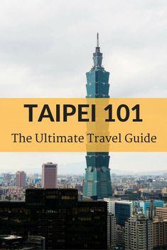 Taipei 101 in Taipei, Taiwan | Free Comprehensive Travel Guide for Travelers #travel #wanderlust #tourism #taiwan #taipei