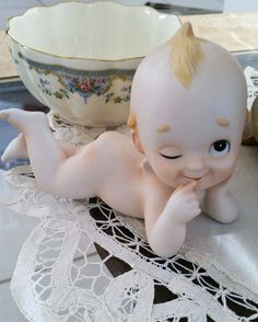Lefton Baby home decor baby figurine collectible by Passion4Retro