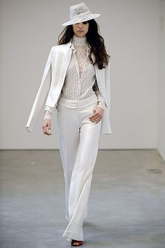 Every Girl Needs A Good White Suit-l'wren scott :: spring 2009