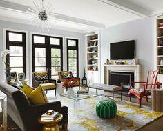 Christine Hughes' Chic Chicago Home