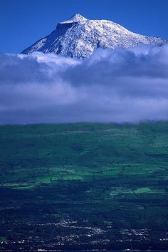 Pico Isl. is the 2nd largest island of the Azores Archipelago and the highest mountain of Portugal - Azores, Portugal