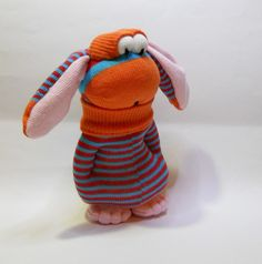 sock frobbit by Treacher Creatures, via Flickr