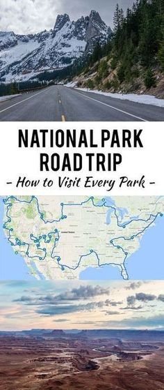 Have you ever dreamed about leaving everything behind and setting out on epic National Park road trip across the entire United States? Tag someone you'd take along on this 30,000 mile long journey through 43 National Parks.