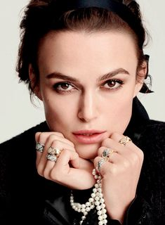 Keira Knightley for Chanel's Coco Crush Jewelry, 2016