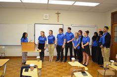 Student Senate Induction 2015