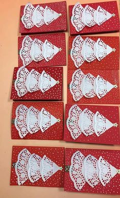 Learn How to Make Easy Simple Handmade Christmas Cards – Christmas DIY Holiday Cards Kids Crafts, Christmas Crafts For Kids To Make, Christmas Card Crafts, Christmas Tree Cards, Preschool Christmas, Homemade Christmas, Christmas Art, Christmas Ornaments, Origami Christmas